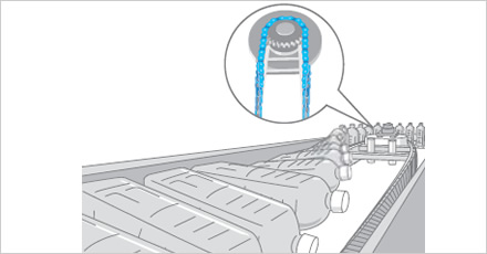 PET Bottle Sterilizer illustration