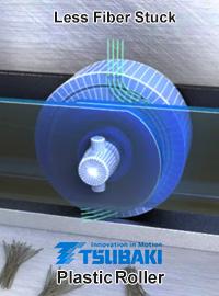 Tsubaki Plastic Roller